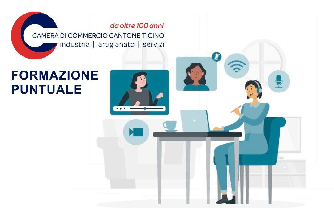 Breva collabora alla Formazione Puntuale della Camera di Commercio del Canton Ticino