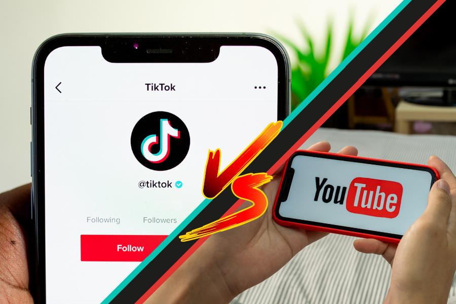 TikTok vs Youtube: quale piattaforma vincerà la guerra dei video?